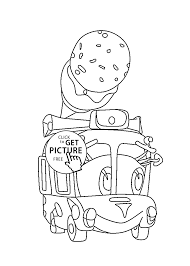 cream machine coloring pages for kids printable free