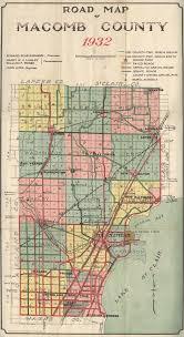 Mi Map Center Line Mi Historical Information