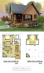 small floor plans tiny cabin plans ideas log floor with loft best small house two
