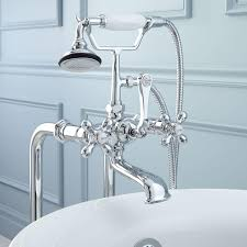 Clawfoot Tub Fixtures Freestanding English Telephone Tub Faucet Supplies And Drain