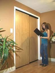 Wooden Closet Door Oak Bifold Closet Doors Awesome Wood Closet Door Sliding Wood