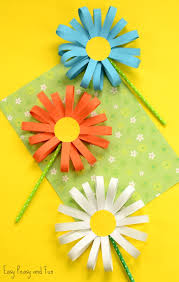 paper flower craft easy peasy and