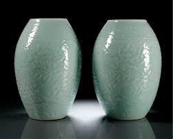 Chinese Antique Vases Markings Celadon Glazed Alain R Truong