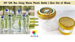 how to make plastic bottle gift box tube diy creative ways to