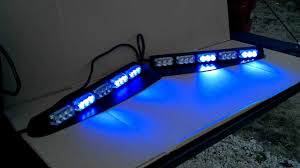 Damega Light Bar by Dual Colored Led Interior Lightbar Youtube