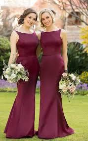 wedding dress maroon gorgeous 2017 bridesmaid dress maroon bridesmaid dress
