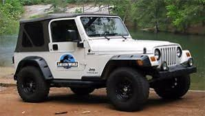 jurassic world jeep jurassic world movie decals 2 removable magnets car jeep ebay