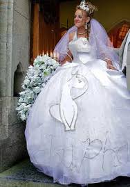 disgusting wedding dresses the ugliest wedding dresses