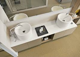 furniture cool corian vs granite with double sink for kitchen