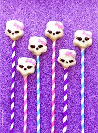 diy marshmallow lollipops u0026 free easter tags party ideas party