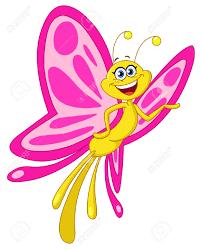 cartoon clipart butterfly pencil color cartoon clipart