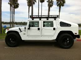 hummer jeep white 2006 hummer h1 4 door hardtop ksc4 with slantback shell 1 of 2