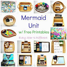 free mermaid printables crafts