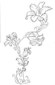 flower drawing tattoos designs ideas and meaning