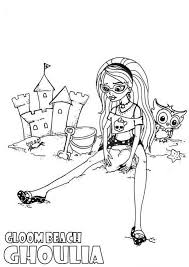 monster high coloring pages clawdeen wolf monster high coloring pages jinafire long monster high coloring