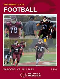 Flag Football Chicago University Of Chicago Football Yearbook 2016 By University Of