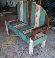 Rustic Outdoor Bench Plans Wooden Pallet Bench Plans Recycled Things