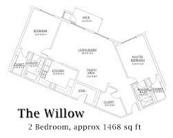 Willow Floor Plan by View 5 Of The Basic 12 Floor Plans Available At Valley View