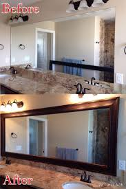 Double Sided Bathroom Mirror by 11 Best Frames For Existing Mirrors Images On Pinterest Bathroom