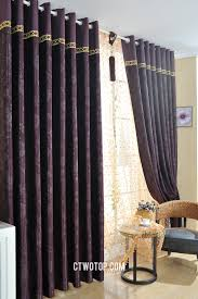 purple patterned blackout swag custom small curtains online