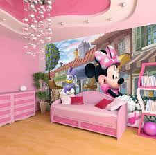pink wallpaper for walls minnie mouse deasy disney wallpaper for girls room