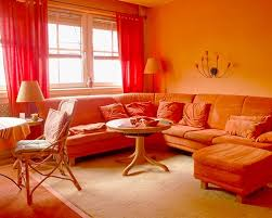 orange wall curtains with orange walls lippy home