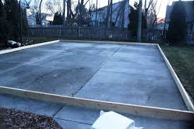 backyard ice rink plans