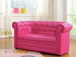 petit canapé pour enfant canapé pour enfant chesterfield tito ii simili rosé