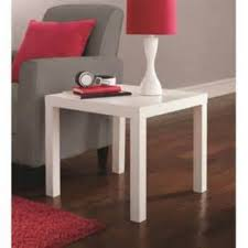 dhp parsons white coffee table 3537496 the home depot