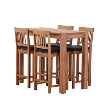 breakfast table glasswells royale breakfast table and 4 breakfast stools dining