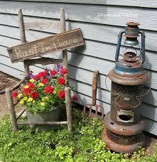 best 25 garden junk ideas on pinterest garden ladder primitive