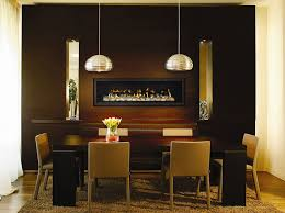 dining rooms direct fireplace in dining room home design ideas