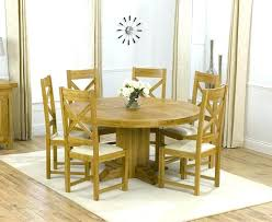solid oak table with 6 chairs oak kitchen table and 6 chairs solid chunky oak furniture large