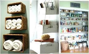 Baskets For Bathroom Storage Bathroom Wall Storage Baskets Quchan Info