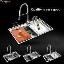 Sink Spanish Translation by Tangwu High Grade Kitchen Sink 1 Mm Thick Food Grade 304 Stainless