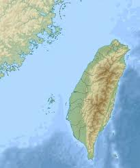 Map Of Taiwan Detailed Relief Map Of Taiwan Taiwan Asia Mapsland Maps Of