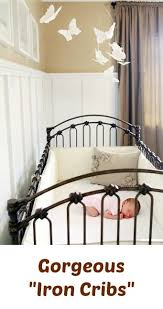 Bratt Decor Crib Iron Crib Baby Room Ideas