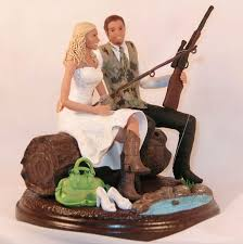 fish cake toppers 25 country wedding cake toppers ideas on country