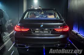 bmw 740le xdrive plug in hybrid arrives in malaysia costs rm599k