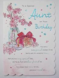 hallmark birthday card for auntie u0027wonderful moments u0027 medium