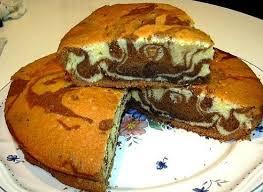 cuisine choumicha arabe recette cake marbré rectangulaire choumicha choumicha