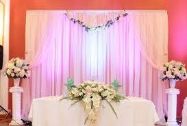wedding backdrop set up diy wedding drapery how to set up a diy wedding backdrop the budge