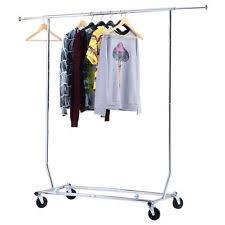 heavy duty garment rack ebay
