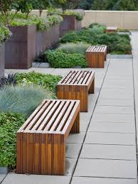 Garden Bench Hardwood Hudson Bench Outdoor Forms Surfaces