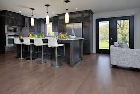 Engineered Hardwood In Kitchen What Is Engineered Hardwood For A Contemporary Kitchen With A