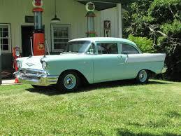 strip style dual quad 283 cruiser 1957 chevrolet 150 bring a