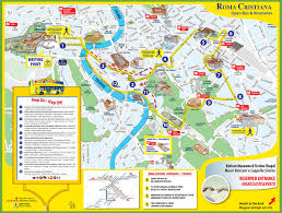 Chicago Tourist Map Printable Tourist Map Of Rome Italy You Can See A Map Of Many