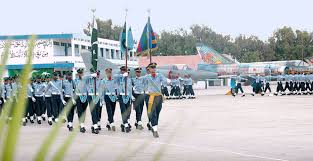 join pakistan air force induction for 137 gdp course starts