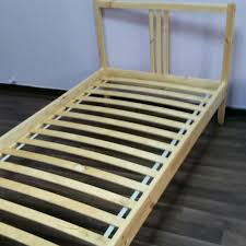 Ikea Single Bed Frame Ikea Single Bed Frame Home Furniture On Carousell