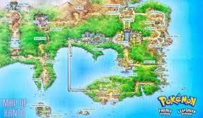 Sinnoh Map Pokemon Regions